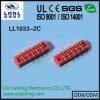 Разъем гнезда спички красного гнезда IDC микро-