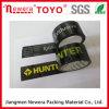 cinta del embalaje del negro y de la impresión BOPP de 48m m