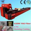 Cortador do laser do tubo de YAG para o processamento do metal