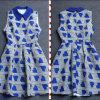 Наша первоначально конструкция: Лидирующее безрукавный платье женщин