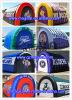 Kundenspezifische Vielzahl, die aufblasbares Tunnel-Zelt bekanntmacht