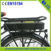 36V/48V 10ah-20ah Rear Rack Lirium Battery voor Ebike