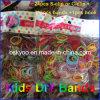 Kinder Toy DIY Rubber Rainbow Loom Kits Bands 600PCS+24PCS Klipps+1PS Hook