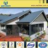 Casa de campo bonita de aço clara pré-fabricada nova