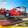 Máquina de juego caliente del coche de competición del simulador 4D de la arcada de la venta