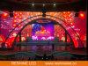 Schermo di visualizzazione di evento LED della priorità bassa di fase video/comitato/parete locativi esterni dell'interno