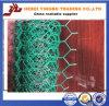 Rede de fio sextavada revestida do PVC (LY0001)