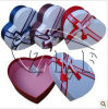 Fashion Heart-Shaped Handmade Paper Gift Box (PGB-015)