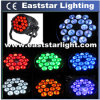 disco Lighting Outdoor LED PAR de 18PCS 10W RGBW 4in1 Stage