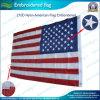 刺繍された210d NylonアメリカのFlag (J-NF16P18001)
