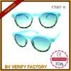 Rétro lunettes de soleil bon marché polarisées faites sur commande F7097 de couleur