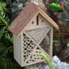 Nuovo Design Wooden Bird House con Wood Bark