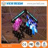 Farbenreiche hängende unregelmäßige Form (Diamant-Blume/Münzen-/Blumenblatt-Form) LED-Bildschirmanzeige