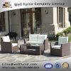 Vimine buono del patio di Furnir Wf-17007 gruppo della disposizione dei posti a sedere delle 4 parti con gli ammortizzatori