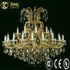 Più nuova bella lampada a cristallo di lusso del lampadario a bracci di disegno moderno (AQ50003-20+10+1)