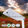 2017 indicatore luminoso solare Integrated di IP65 1320lm 12W LED per la via