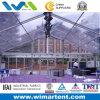 Ясный-Span PVC Tent 15m Transparent Aluminum для Restaurant