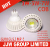 éclairage LED de 240lm 3W 220V GU10/MR16 COB DEL Spotlight