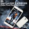 Teléfonos celulares impermeables de la base de S5 Mtk6592 Octa