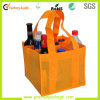 Eco-Friendly personalizado Fashional Non Woven 9 Bag Wine Pacote