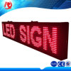 Indicador de sinal de LED vermelho / branco programável para uso ao ar livre