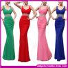 Платье вечера 2014 новых повелительниц Mermaid прибытия сексуальных кристаллический длиннее безрукавный