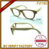 Верхнее качество Fx180 Handcraft солнечные очки ручных рамок квадрата деревянные