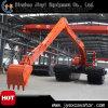 Excavador hidráulico de la correa eslabonada excelente del funcionamiento de China
