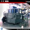 Desfibradora plástica y trituradora del eje doble resistente