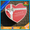 Wholase Paper Bowknot Heart Shaped Gift Box (XX01)