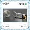 Heißes Verkaufs-Fabrik-Preis Soem-förderndes Geschenk-Metalltaste USB-Blinken-Laufwerk
