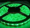 Luce di striscia verde del LED