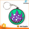 Liga de borracha macia do PVC das legendas Keychain