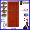 Diseño de madera de la puerta principal del nuevo sitio del diseño de China