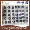 Вставки CNC Indexable поворачивая филируя вставки