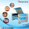 Máquina de estaca acrílica da gravura do laser do CO2 80W com baixo preço