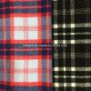 Sobretodo Yarn-Dyed de la tela de las lanas de la verificación
