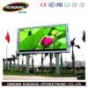 Diodo emissor de luz ao ar livre do vídeo de cor P10 cheia que anuncia a visualização óptica