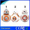 Movimentação do flash do USB do PVC do caráter dos desenhos animados Bb8 do preço de fábrica de China