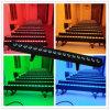 Der Ton-des SteuerDMX512 Rgbaw 5in1 Licht Wand-Unterlegscheibe-18PCS LED