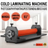 le manuel de 1300mm laminent à froid la machine feuilletante de support de film de photo de vinyle
