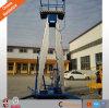 Hydraulisches vertikales Aufzug-Aluminiumcer des Mann-Htlh14-200-2