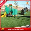 Décoration fausse synthétique de jardin d'herbe d'horizontal