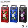 Bluetooth/SD/USB/Karaoke (XH-PS-713)の木の物質的な携帯用ハイファイスピーカー