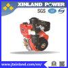 4-Stroke motor diesel refrescado aire horizontal L188f (c) (e) para la maquinaria