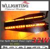 LEDの警告のバイザーライトおよび分割警報灯棒(こはく色)