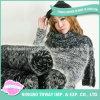 Châle de femmes de laines de coton de mode de prix bas long