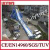 Diapositiva de agua inflable más grande de calidad superior en la pista para la venta -- Azul/blanco