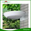 Luz accionada solar sin hilos al aire libre del sensor de movimiento del radar de microonda de la lámpara de la iluminación 16 LED para el patio, cubierta, yarda, jardín, pared exterior con 2 modos