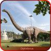 Dinosaurus van de Grootte van Diplodocus van de Beeldhouwwerken van de dinosaurus de Openlucht Grote